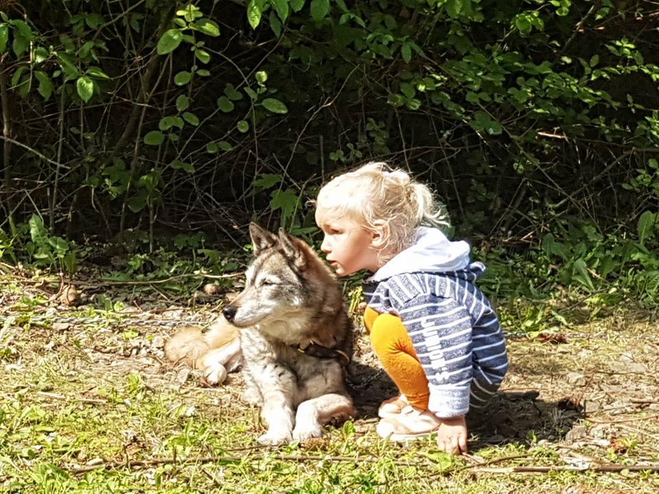 Lekker met Eska knuffelen