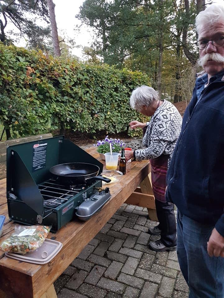 Voorbereiding musher maatijd